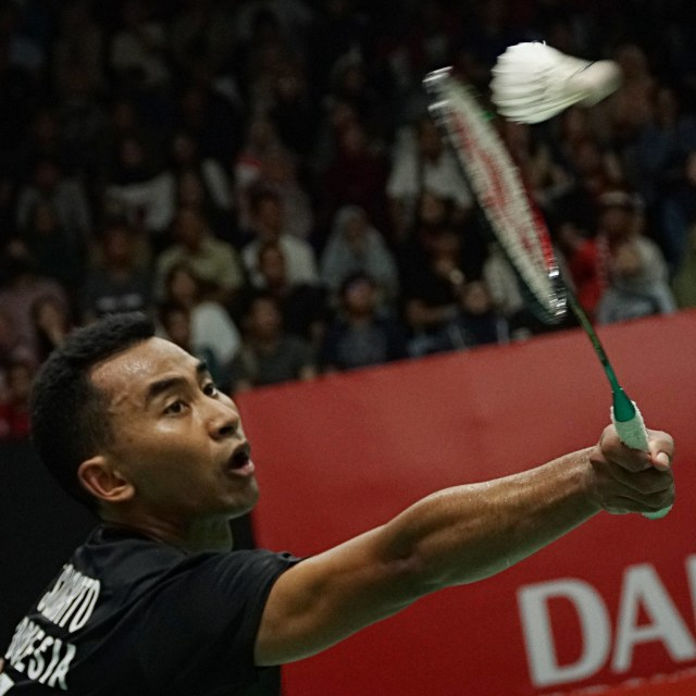 Indonesia Masters 2020, Tommy Sugiarto