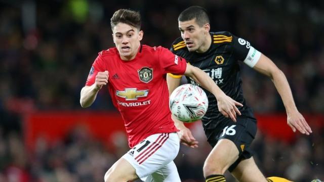 Daniel James, Manchester United, Wolverhampton