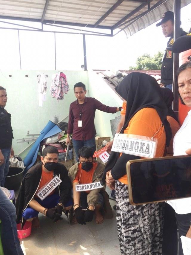 Rekonstruksi pembunuhan hakim PN Medan Jamaluddin, PTR