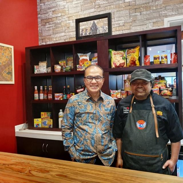 Restoran Indonesia di Selandia Baru