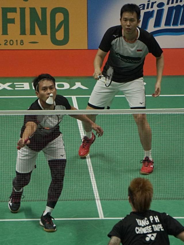 PTR, Indonesia Master 2020, Ahsan/Hendra