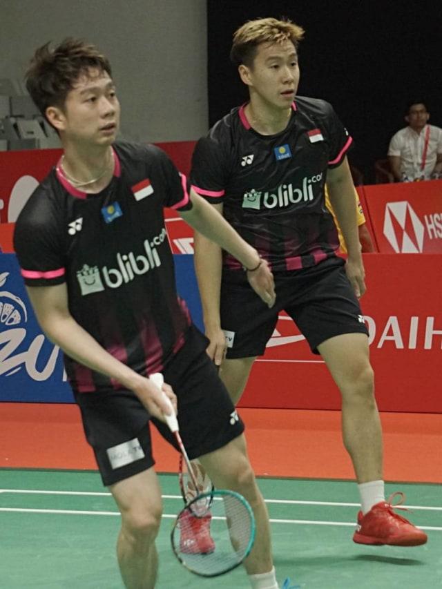 Indonesia Masters: Berbenah, Marcus/Kevin pun Menang Lebih Cepat (92664)