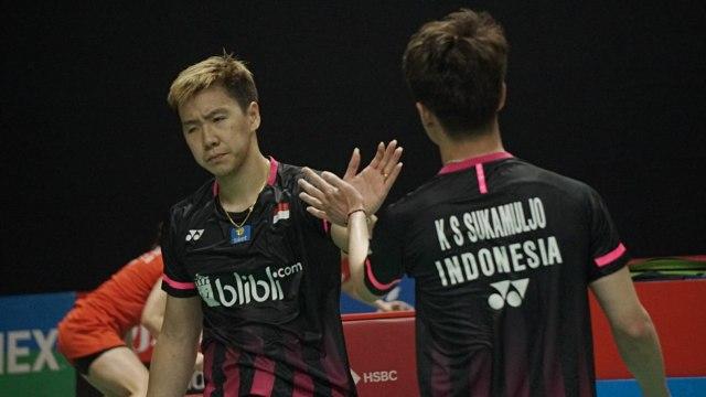 Indonesia Masters: Berbenah, Marcus/Kevin pun Menang Lebih Cepat (92665)