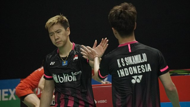 Indonesia Master 2020, Kevin Sanjaya/Marcus Gideon