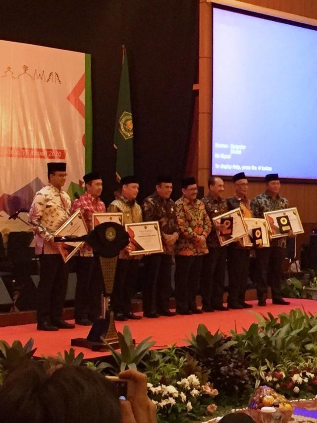 Gubernur DKI hingga Riau Raih Penghargaan atas Kontribusi Keagamaan (227)