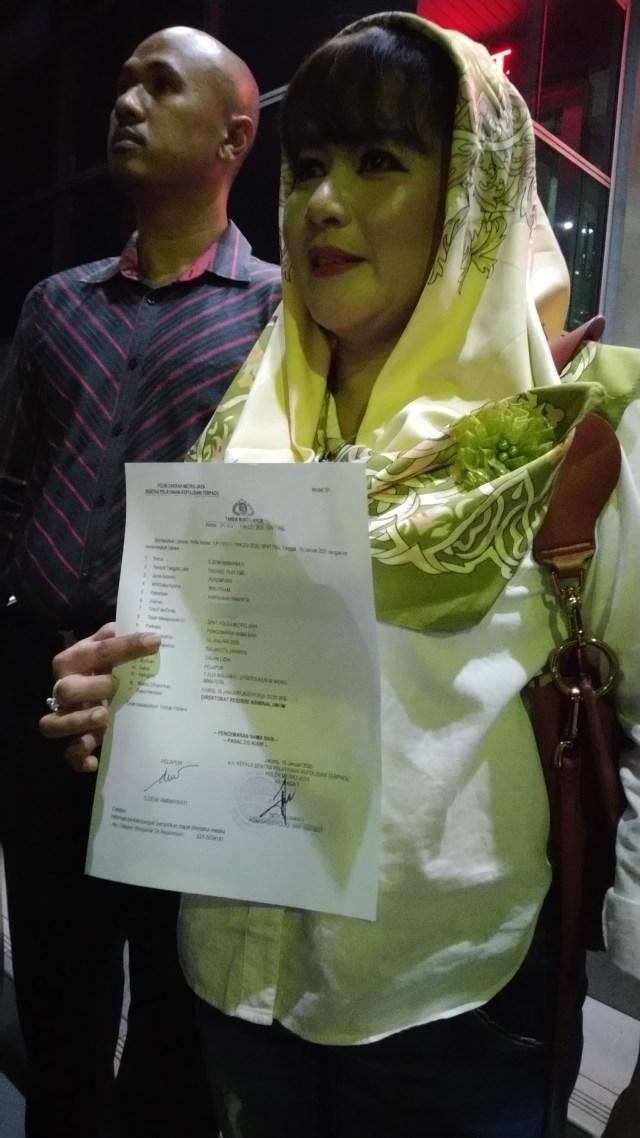 PTR, Dewi Tanjung laporkan pendukung Anies Baswedan