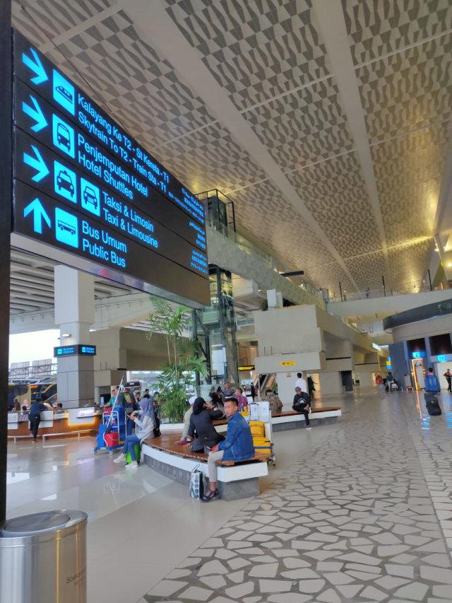 Heboh Virus Corona, Bandara Soekarno-Hatta Masih Dipadati 200 Ribu Penumpang (73142)