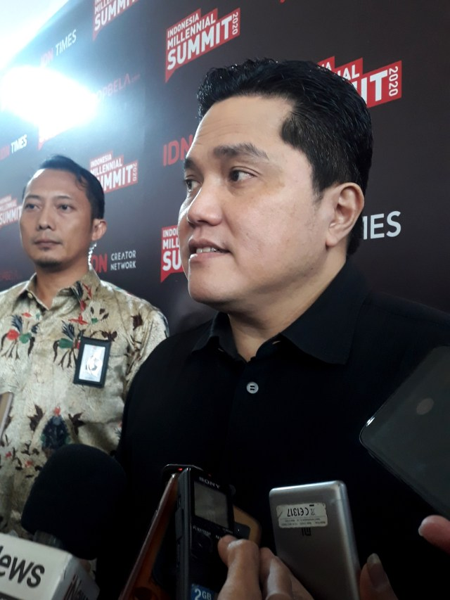 PTR, Menteri BUMN Erick Thohir, IDN Media di The Tribarata
