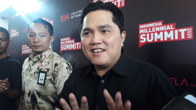 Menteri BUMN Erick Thohir, IDN Media di The Tribarata