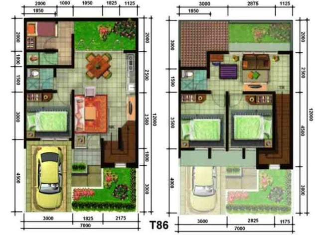 5 Desain Rumah Minimalis Type 36 Terbaru 2020 Kumparan Com