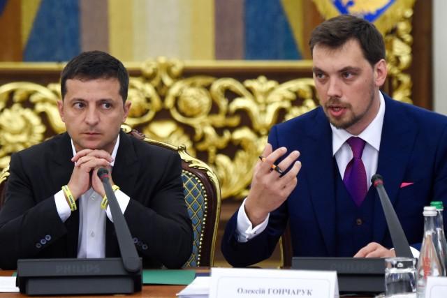 Presiden Ukraina, Volodymyr Zelensky