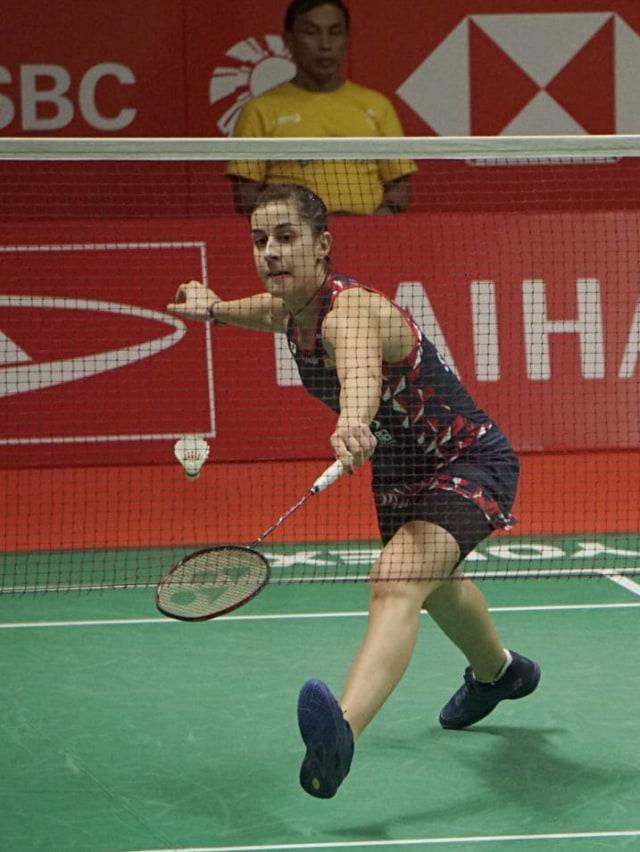 Kenapa Marin Takluk dari Intanon di Final Indonesia Masters 2020? (722974)