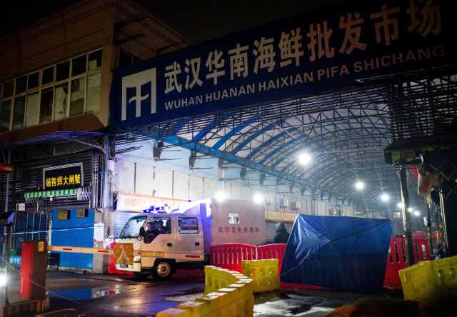Virus Corona, Pasar Makanan Laut Huanan