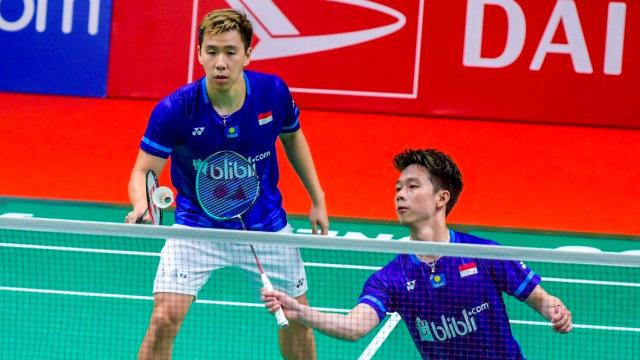 Indonesia Masters 2020, Kevin Sanjaya dan Marcus Gideon