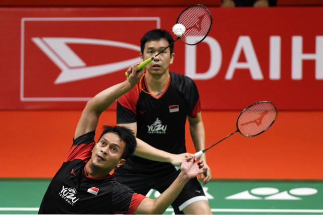 Thailand Open: Ahsan/Hendra Tembus Perempat Final Usai Hajar Wakil India (14222)