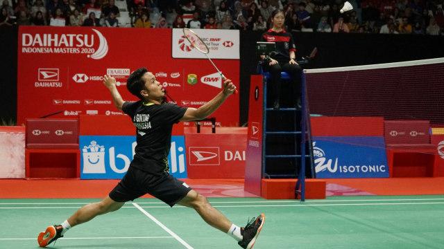 Thailand Open: Anthony Ginting ke Perempat Final, Tikung Wakil Tuan Rumah  (120272)