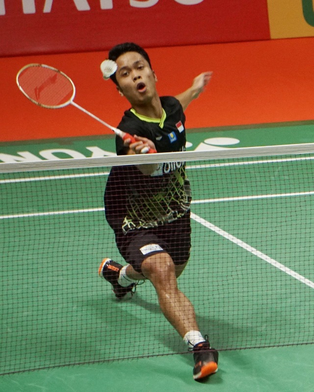 Indonesia Masters 2020, Anthony Ginting, POTRAIT
