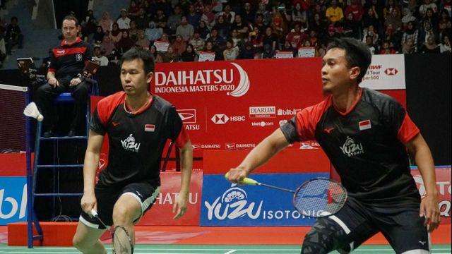 Indonesia Masters 2020, Mohammad Ahsan, Hendra Setiawan