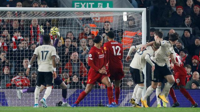 Liverpool melawan Manchester United