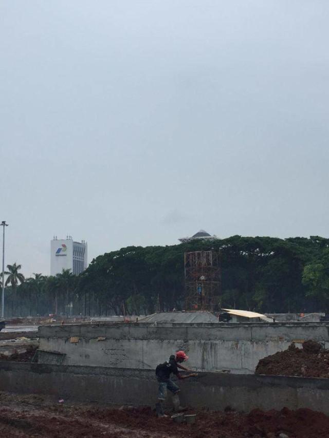 PTR, Revitalisasi kawasan Monumen Nasional
