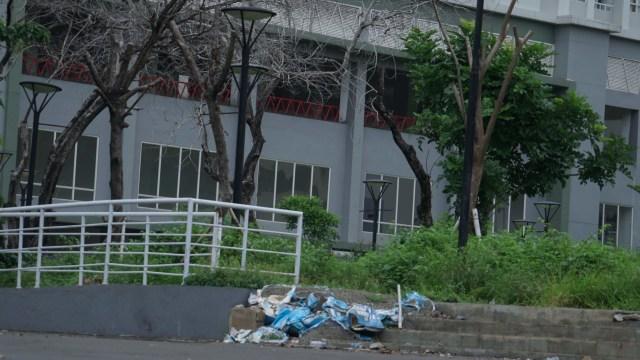 Foto: Lengangnya Wisma Atlet Kemayoran (69523)