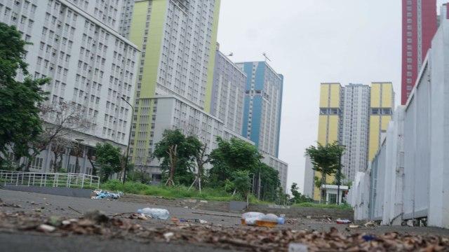 Foto: Lengangnya Wisma Atlet Kemayoran (69520)