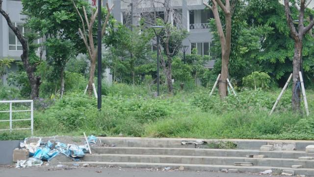 Foto: Lengangnya Wisma Atlet Kemayoran (69522)