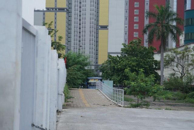 Foto: Lengangnya Wisma Atlet Kemayoran (69529)