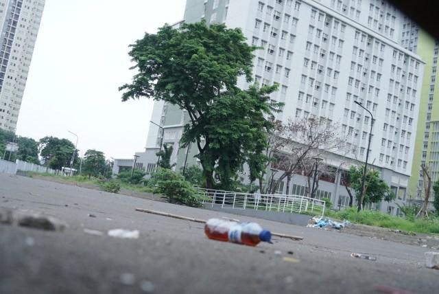 Foto: Lengangnya Wisma Atlet Kemayoran (69525)
