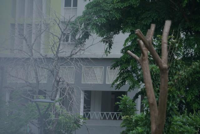 Foto: Lengangnya Wisma Atlet Kemayoran (69528)