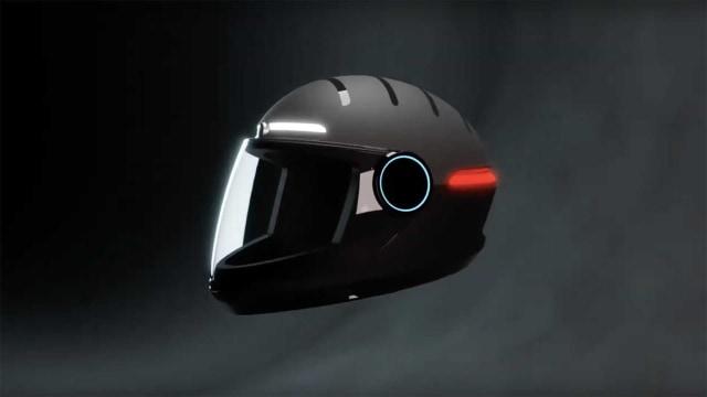 Keren, Helm Pintar ini Punya Teknologi GPS dan Kamera 4K