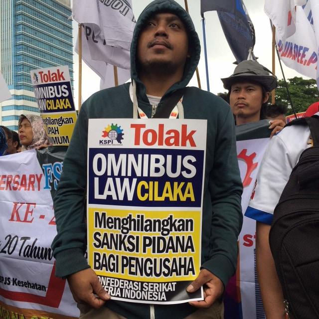 Demo Buruh di DPR
