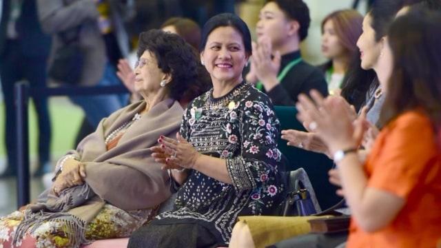 Iriana Jokowi di KTT Asean-RoK