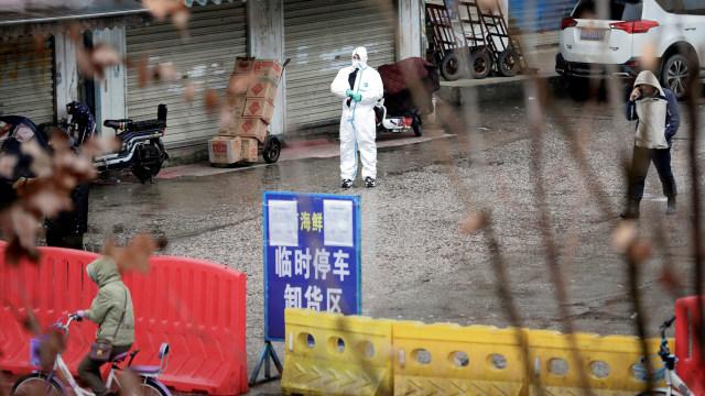virus wuhan, China