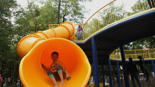 Anies Baswedan tinjau Taman Puring