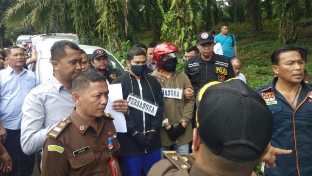 Rekrontruksi pembunuhan Hakim Jamaluddin tahap III