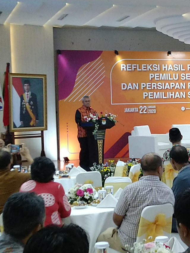 PTR, Ketua KPU Arief Budiman, Refleksi Hasil Pemilu