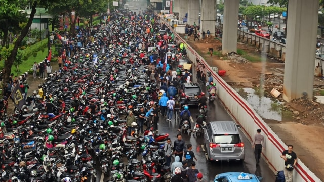 Aksi massa Priok di Rasuna Said