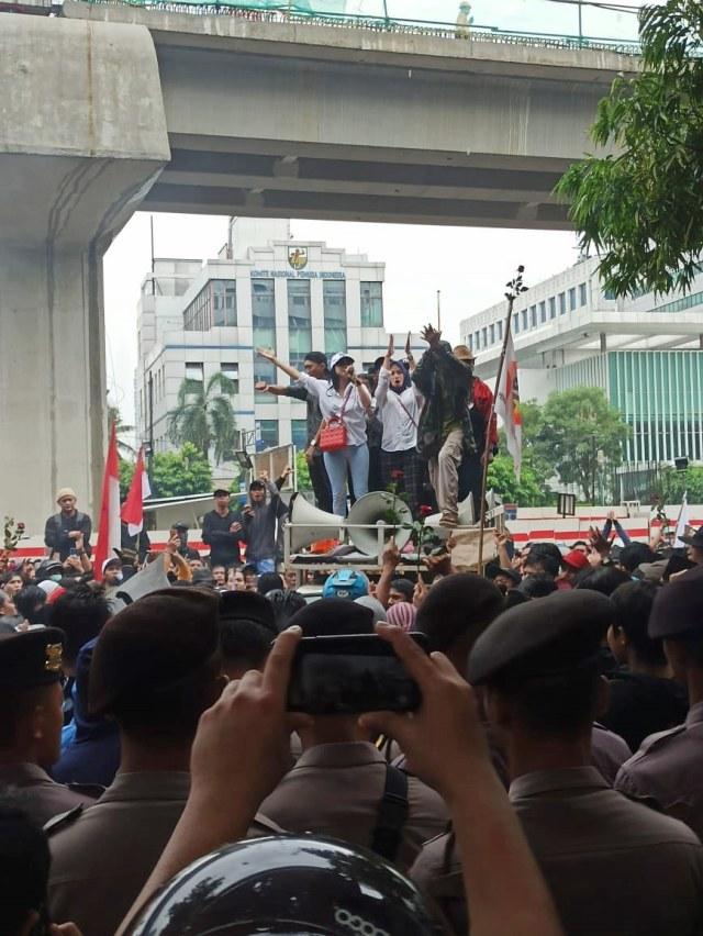 PTR, Aksi massa Priok di Rasuna Said