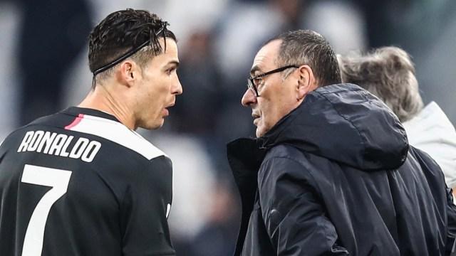 Juventus vs Roma: Sarri Mau Istirahatkan Cristiano Ronaldo? (1226707)