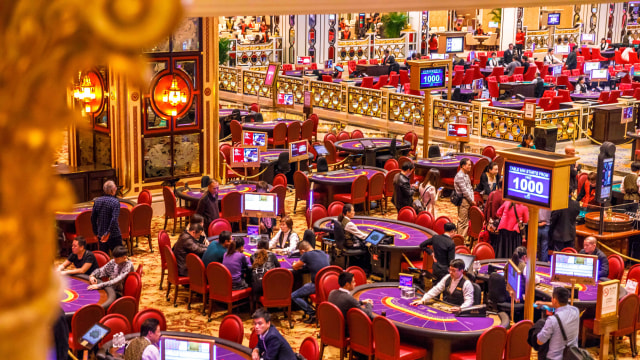 Ilustrasi Kasino di Macau