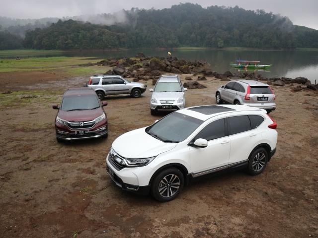 Napak Tilas 5 Generasi Honda CR-V di Indonesia Sepanjang 20 Tahun (128687)