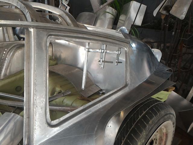 Ubah Die-Cast Jadi Replika Porsche 356b Abarth Aluminium (89648)