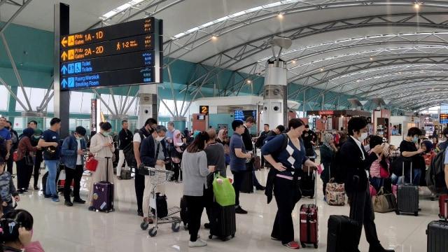 Catat! Ini Jam Operasional Bandara AP II Selama Periode Larangan Mudik (583725)