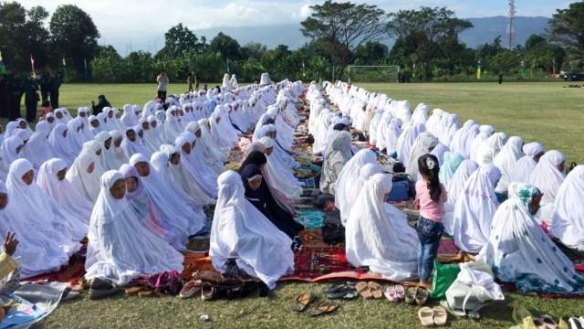 Masyarakat Aceh salat Istisqa