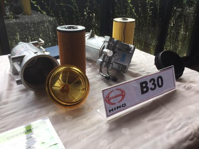 Otomotif, B30, Filter Solar