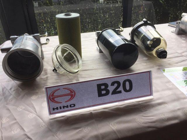 Otomotif, B20, Filter Solar
