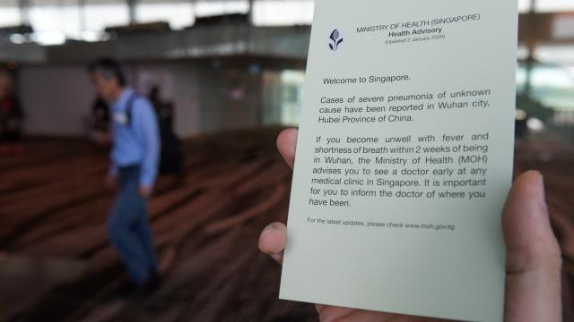 virus corona, Bandara Internasional Changi, Singapura