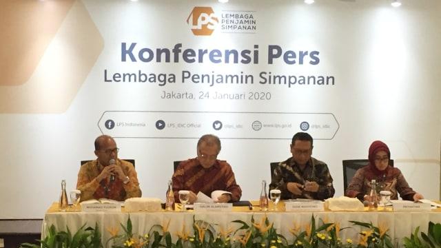Konferensi Pers Lembaga Penjamin Simpanan (LPS)