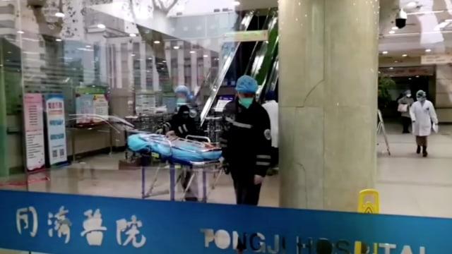 Rumah Sakit di Wuhan